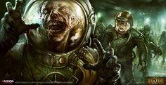 Mutants... by daRoz - digital painting