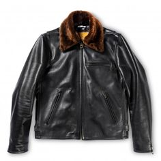 Shangri-La Heritage's debuts a new design inspired by sport jackets. Shangri La, Shop Vetements, Canvas Jacket, Motorcycle Outfit, Shearling Jacket, Pullover, Sports Jacket, Modern Man, Fur Collars