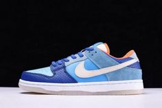 premium selection 3aa37 121fc Real Nike SB Dunk Low Premium QS Mia Skate Shop 10th Year Anniversary Brv  Blue Mtlc. Zapatillas ...