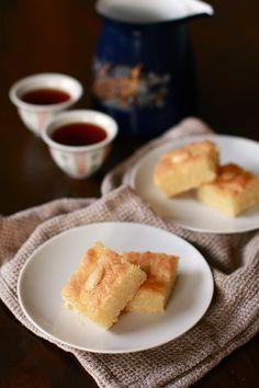 Semolina and Syrup Slice (Namoura)   Wandering Spice