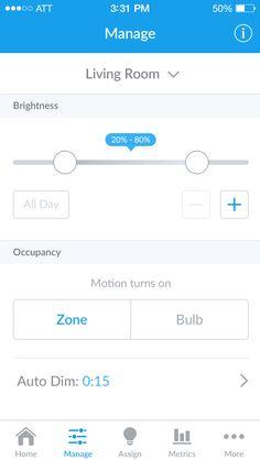 Stack lighting ios app manage