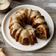 Steamed Carrot Pudding - Taste of Home Steamed Carrot Pudding Recipe, Pudding Recipes, Easter Recipes, Holiday Recipes, Dessert Recipes, Christmas Recipes, Dessert Ideas, Taste Of Home, Cherry Bread