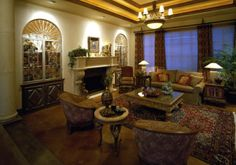 old world decorated living rooms - Yahoo! Search Results
