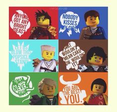 these are what motivate me. along with all my other favorite Ninjago quotes.