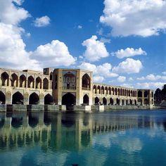 Khaju Bridge(pol-e khajoo-1650 C.E)3,Isfahan, Iran