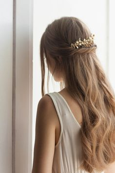 Myrtle Leaf Comb I have been so in love with myrtle leaf headpieces and have…