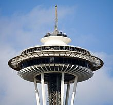 Space Needle, Seattle Designed and Engineered to Support a Revolving Restaurant #fijiwater #contest