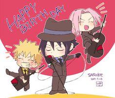 Naruto, Sasuke and Sakura :)