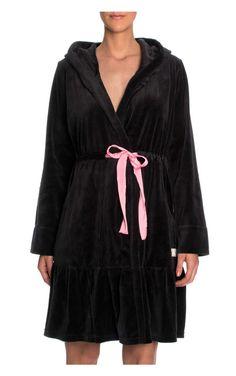 Morgonrock Myself Bathrobe BLACK - Odd Molly - Designers - Raglady