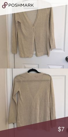 Old navy cardigan Gold button sweater Sweaters Cardigans