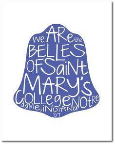 Belles of Saint Mary's. $15.00, via Etsy.