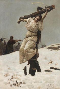 Gabriel Palencia Ubanell: Martirio de Santa Eulalia, 1895.