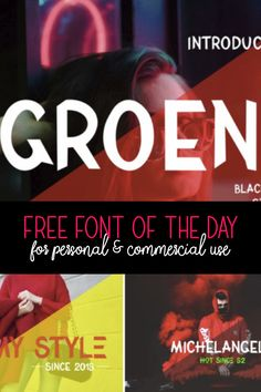 ♥ FREE FONT of the D
