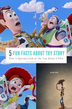 5 Fun Facts About Toy Story - Plus A Special Look at the . Toy Story 4 Cast, Toy Story 3 Movie, Toy Story 1995, 2 Movie, Bo Peep Toy Story, Jessie Toy Story, Transformers 4, Movie Collection, Designer Toys
