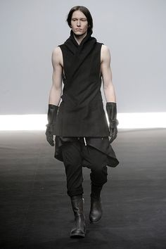 Gendry Waters Rick Owens menswear fall 2009