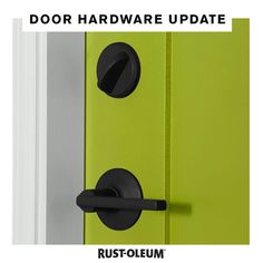 Looking for something to do while bored at home? Tackle your to-do list and update your door handles and hardware around the home on a budget using Rust-Oleum Universal Spray Paint! Spray Paint Projects, Diy Spray Paint, Painting Hardware, Black Door Handles, Diy Home Repair, Paint Colors For Home, House Colors, Door Accessories, Painted Doors