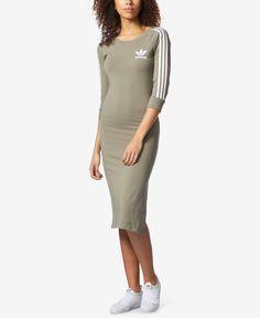 adidas Three-Stripes T-Shirt Dress