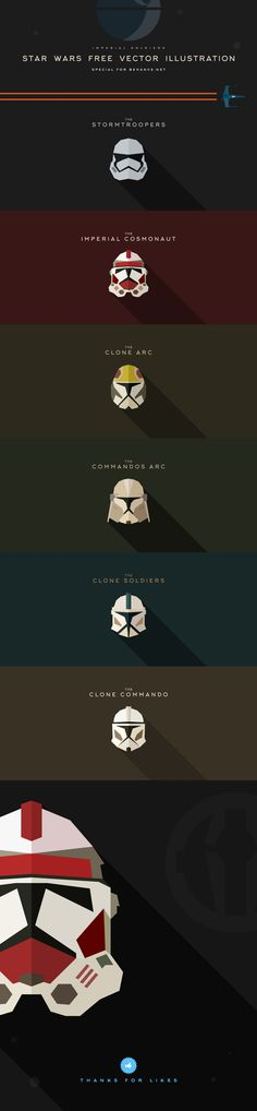 For all the fans of Star WarsStar Wars Free Vector Illustration (Imperial Soldiers)Star_Wars_Free_vector_illustrationFiles AI, EPS, PSD, JPG 1897x8189px#StarWars #illustration #Free #Vector #Download #logo #flat #flatdesign #design #icon #illustration…