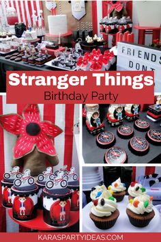 Stranger Things Inspired Birthday Party via Kara's Party Ideas - KarasPartyIdeas.com
