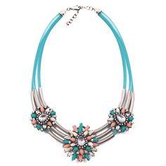 pretty necklace www. Pretty Necklaces, Pandora Charms, Turquoise Necklace, Charmed, Bracelets, Jewelry, Jewlery, Jewerly, Schmuck