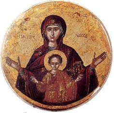 Икона Богоматери «Пантонасса»