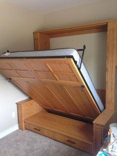 Get wonderful recommendations on Murphy Bed Plans Free. - Get wonderful recommendations on Murphy Bed Plans Free. You will be for … # bed # - Murphy Bed Couch, Build A Murphy Bed, Murphy Bed Ikea, Murphy Bed Plans, Home Room Design, Bed Design, Cama Murphy, Sofa Bed With Storage, Modern Murphy Beds