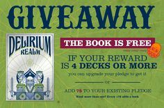 Cool Cards, The Book, Giveaway, Playing Cards, Deck, Ads, Books, Projects, Log Projects