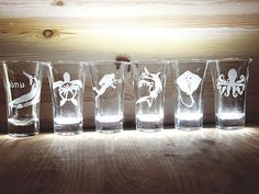 6 shot glasses Gift for Scuba Diver Scuba Diver Gift Scuba