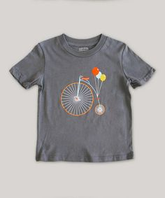 Asphalt Bike Party Organic Short-Sleeve Tee