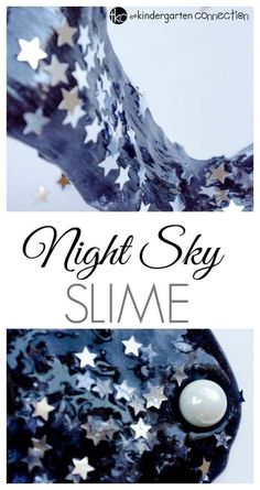 Best DIY Slime Recipes - DIY Starry Night Sky Slime - Cool and Easy Slime Recipe Ideas Without Glue, Without Borax, For Kids, With Liquid Starch, Cornstarch and Laundry Detergent - How to Make Slime at Home - Fun Crafts and DIY Projects for Teens, Kids, Teenagers and Teens - Galaxy and Glitter Slime, Edible Slime http://diyprojectsforteens.com/diy-slime-recipes