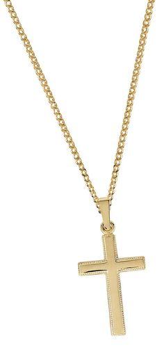 Kultainen rippiristi - Kultatähti.fi verkkokaupasta Gold Necklace, Jewelry, Gold Pendant Necklace, Jewlery, Jewerly, Schmuck, Jewels, Jewelery, Fine Jewelry