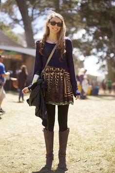 boho fashion | Street Style at Outside Lands: Boho Fashion « Read Less