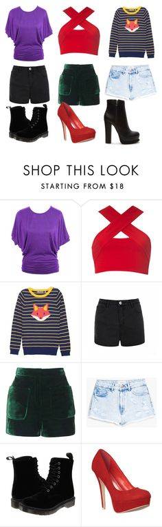 """Summer is coming #Uruguay"" by maitudlossantos ❤ liked on Polyvore featuring Motel, Ally Fashion, Topshop, MANGO, Dr. Martens and Forever 21"