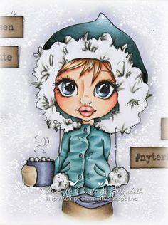 Copic Tutorial: How to color a face | Cardville- Elizabeths Kreative sider | Bloglovin'
