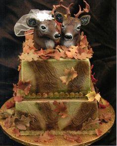 Hilarious redneck wedding cake