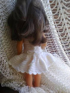 Crochet Doll Dress (Back)