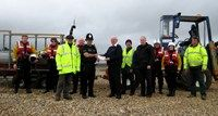 Police in Rye have donated to Pett Level Rescue Boat Association to help fund renovation of the old boathouse. Boathouse, Rye, News Stories, Charity, Acting, Police, Shit Happens, Landscape Rake, Law Enforcement