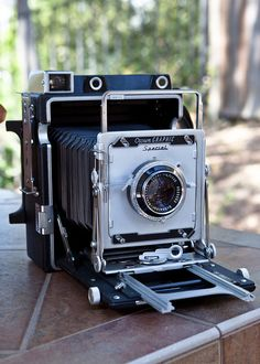 1965 Graflex Crown Graphic Special 4x5 press camera. This was a newspaper and magazine workhorse.