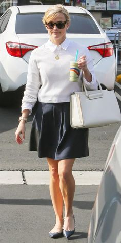 Look of the Day - February 06, 2015 - Reese Witherspoon from #InStyle
