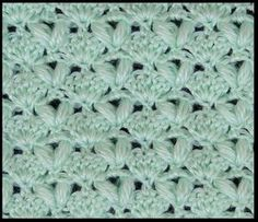 Crochet : Puntos | Tejiendo de Corazon