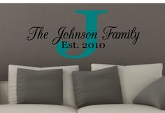 Family Name Decal.