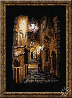 The Alley - Cross Stitch Kits by RIOLIS - 832