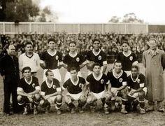 Equipa vencedora 1ª taça Portugal. 1939/40