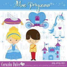 Cinderella Digital Scrap Kit