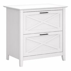 Beachcrest Home Cyra L Shaped Desk & Reviews | Wayfair Organizing Paperwork, Desktop Organization, Storage Organization, Drawer Filing Cabinet, Filing Cabinets, Lateral File, White Oak, Pure White, Cabinets For Sale