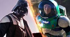 Darth Vader VS Buzz Lightyear Epic Battle Scene.  Well it's unlikely we will ever see a real feature film of Darth Vader vs Buzz Lightyear so watch this really cool short fan film instead, and watch the Sith Lord battle it out with the famous Disney Hero in a Epic Battle Scene that...