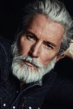 How to grow sexy beard and facial hair like models for men - Men's Fashion Ultimate Tips I Love Beards, Grey Beards, Awesome Beards, Beard Styles For Men, Hair And Beard Styles, Bart Styles, Aiden Shaw, Beard Images, Beard Shampoo