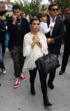 even pregnant kourtney is the prettiest/best dressed kardashian.
