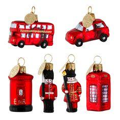 For alle der elsker London, er denne miniature serie et must. Seks stk. pynt med alle den ting, man forbinder med London: Bus, taxa, beefeater, garder, postkasse og telefonboks. Str. 3-4 cm. Hånddekoreret juletræspynt produceret i EU i Brinks uovertrufne kvalitet. Ved køb af 6 stk. miniaturepynt m