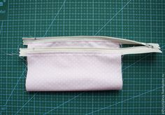 How to sew Wallet with a flat lock. Tutorial DIY